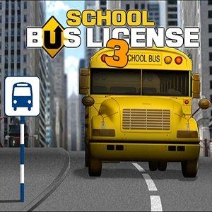 Image School Bus License 3