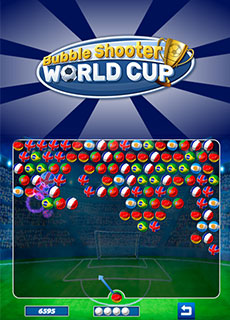 Image Bubble Shooter World Cup
